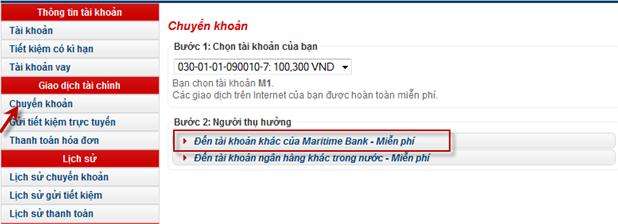 lợi ích của internet banking msb