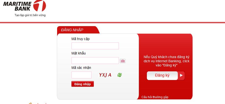 cách đăng ký Internet banking mbs
