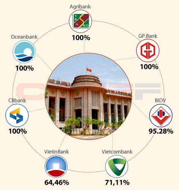5 ngân hàng nhà nước lớn nhất việt nam
