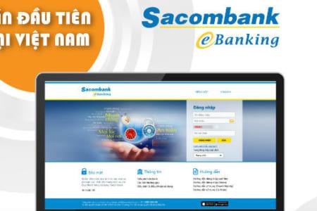 Hướng dẫn đăng ký dịch vụ Internet banking Sacombank