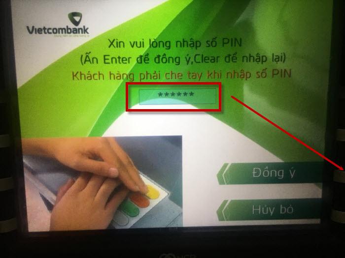 Cách chuyển tiền qua thẻ ATM Vietcombank nhanh nhất