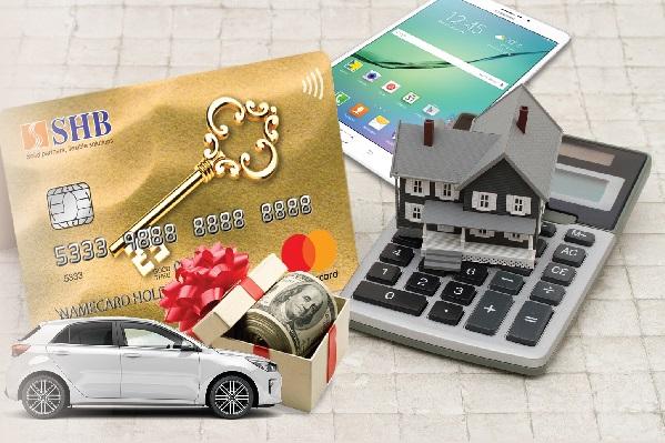 Những tiện ích của thẻ tín dụng SHB Mastercard