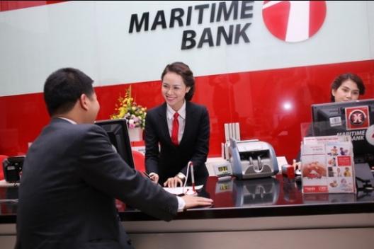 Thẻ Maritime Bank rút được ở những ngân hàng nào?